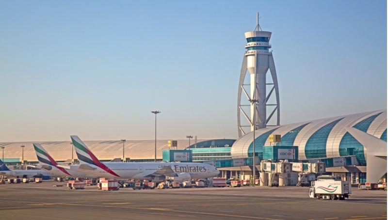 נמל התעופה בדובאי