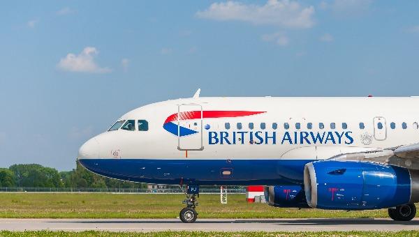 מטוס של בריטיש איירווייז