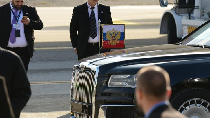 הגעת הנשיא פוטין לישראל