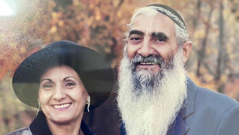 """יוסף קהלני ז""""ל עם אשתו שתבדל""""א"""