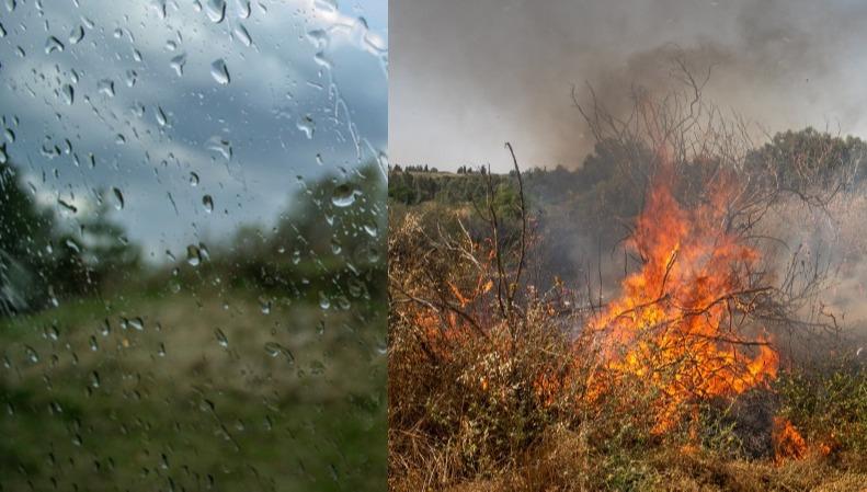 משרב כבד ושרפות - לגשם