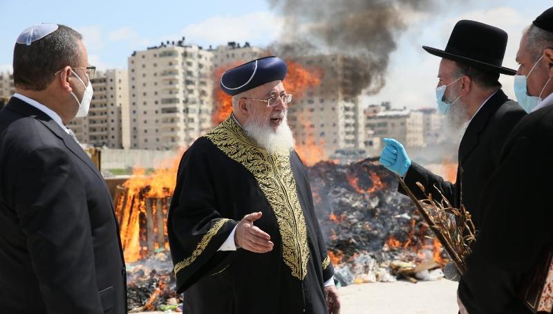 שרפת החמץ של ירושלים