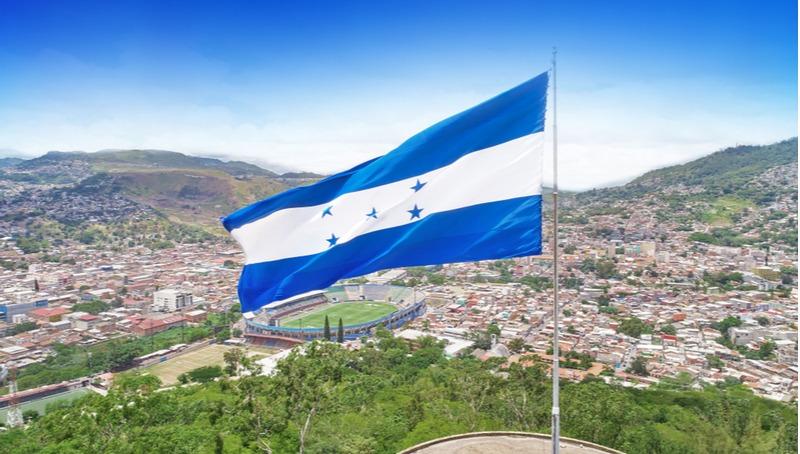 דגל הונדורס בבירת המדינה, טגוסיגלפה