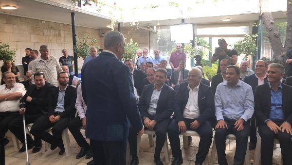 נתניהו במפגש עם ראשי הרשויות