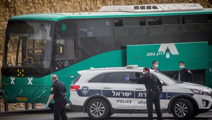 האוטובוס שנעצר בכביש 1