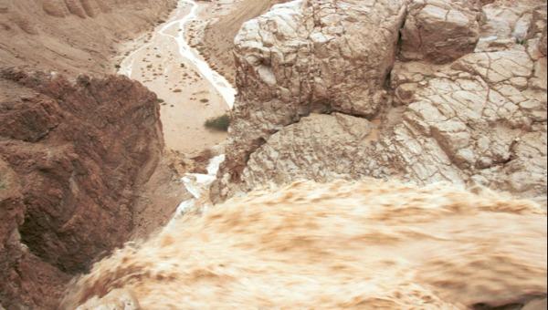 שיטפון במדבר יהודה. ארכיון