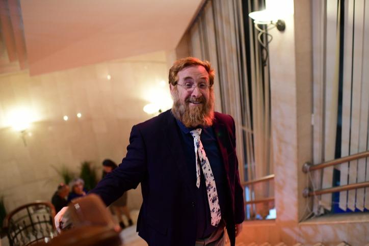 """גם ח""""כ לשעבר יהודה גליק הגיע לתמוך בסער"""
