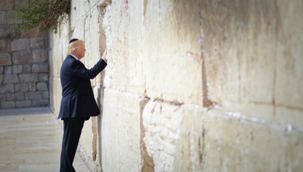 """נשיא ארה""""ב בכותל. פייק או ניוז?"""