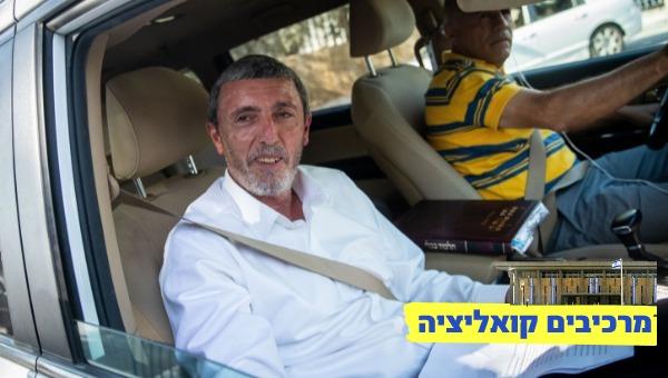 הרב פרץ מגיע לפגישה עם נתניהו, למחרת הבחירות