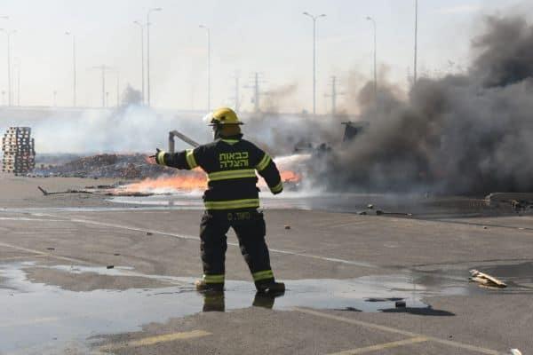 השרפה במפעל ברהט