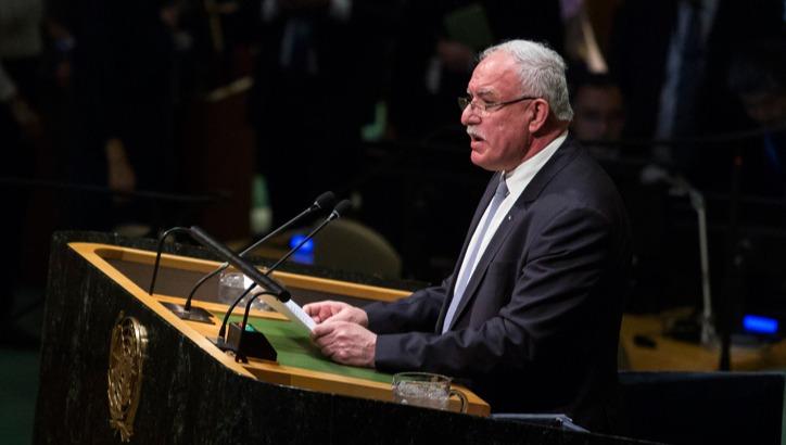"""ריאד אל-מאלכי באו""""ם. ארכיון"""