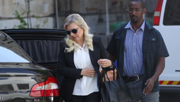 שרה נתניהו מגיעה לבית המשפט, הבוקר