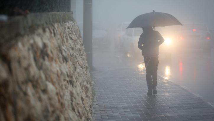 גשום וסוער