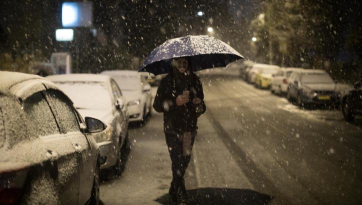 שלג בירושלים. ארכיון