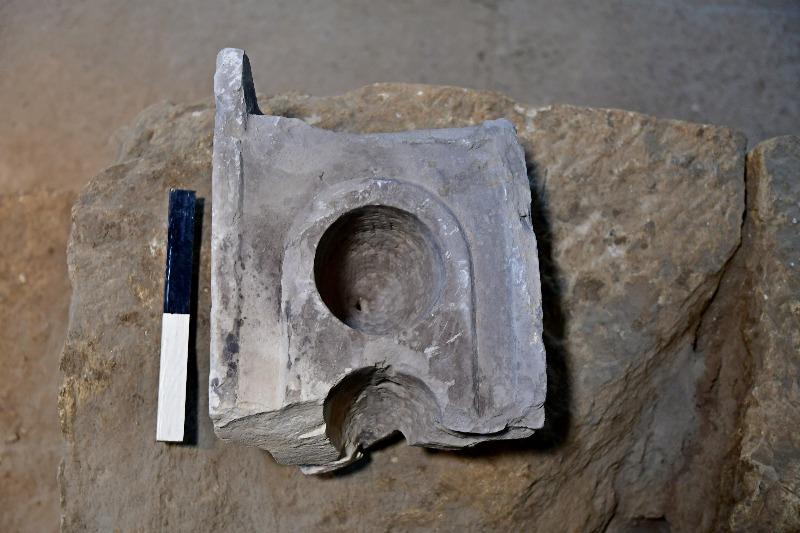 חלקו העליון של כלי המדידה