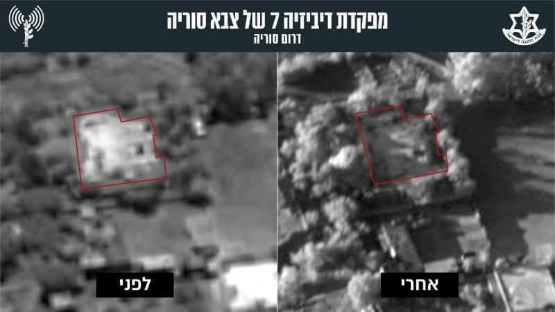 תמונות הפגיעה במתקנים האיראניים בסוריה