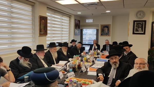 ישיבת מועצת הרבנות