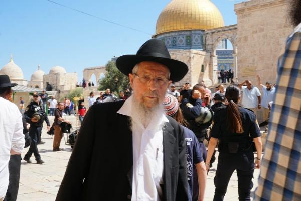 הרב ישראל אריאל בהר הבית, הבוקר