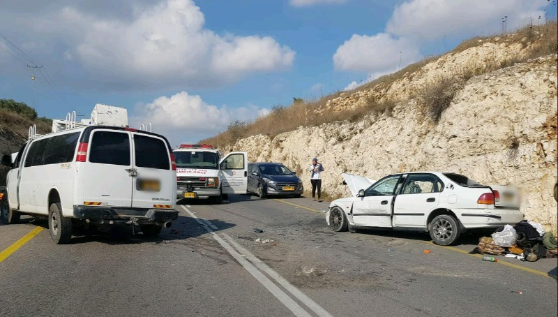התאונה סמוך ליצהר