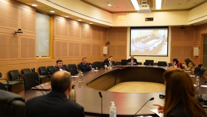 ישיבת הוועדה המסדרת, על פי הנחיות משרד הבריאות