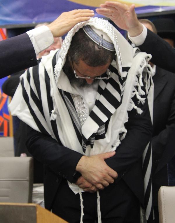 הרב בראלי בטקס