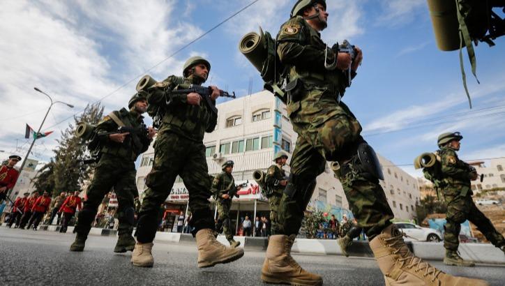 שוטרים פלסטינים. ארכיון
