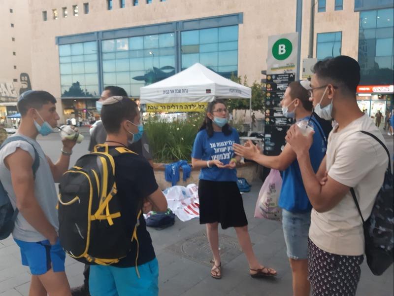 פעילות נוער תנועת הריבונות