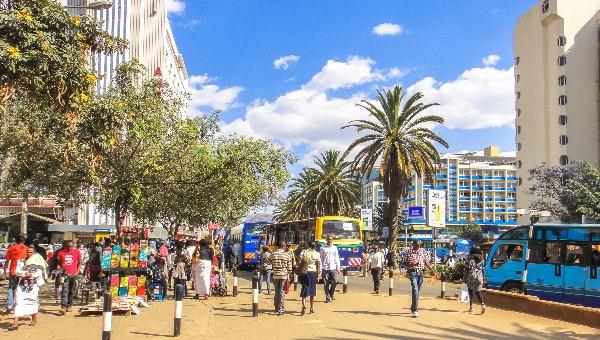 ניירובי, בירת קניה