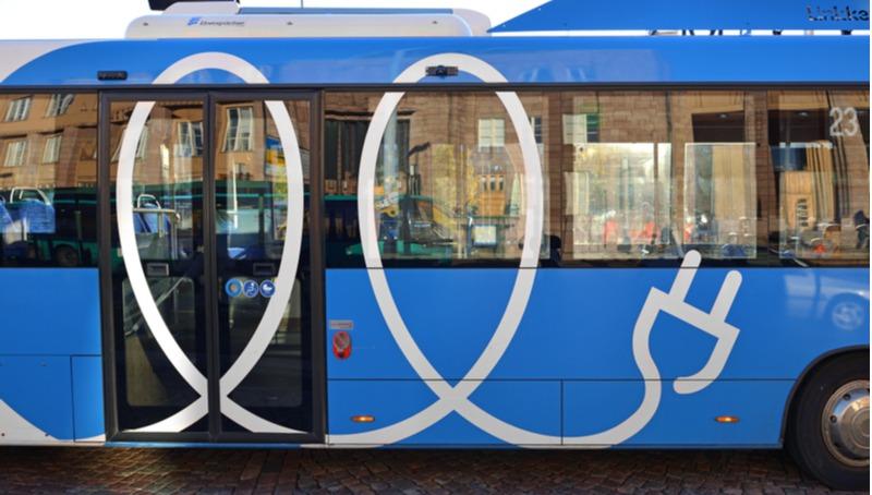 אוטובוס חשמלי בפינלנד