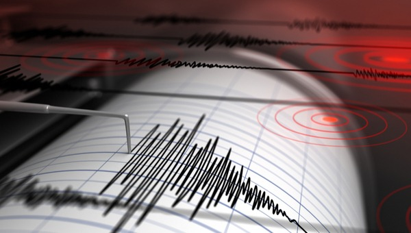 רעידת אדמה על הסייסמוגרף