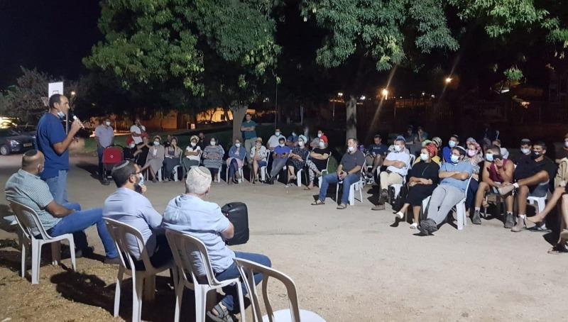כינוס תושבי היישוב עם ראש המועצה