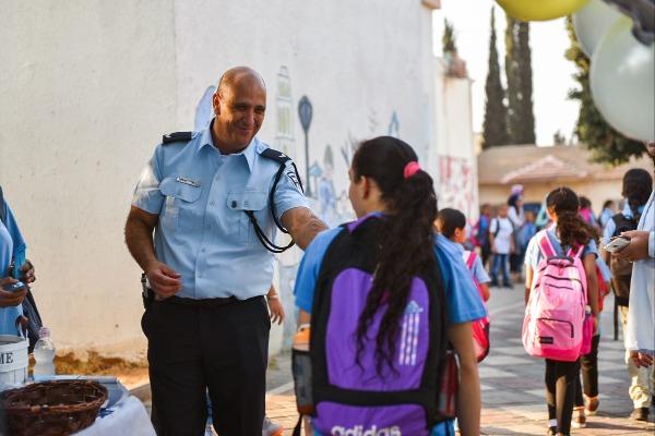 כך נערכת משטרת ישראל לפתיחת שנת הלימודים