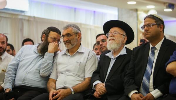ראשי עוצמה יהודית עם הרב דב ליאור