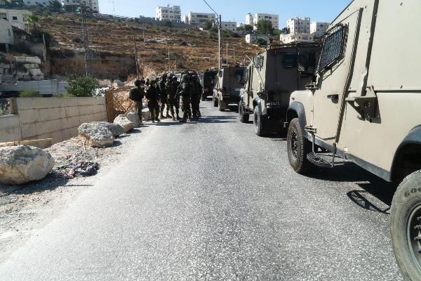 """כוחות צה""""ל בכפר בית פאג"""