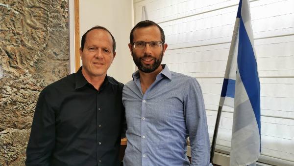 ברקת עם ישראל גנץ