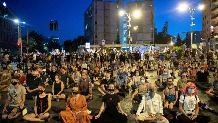 ההפגנה בירושלים אמש