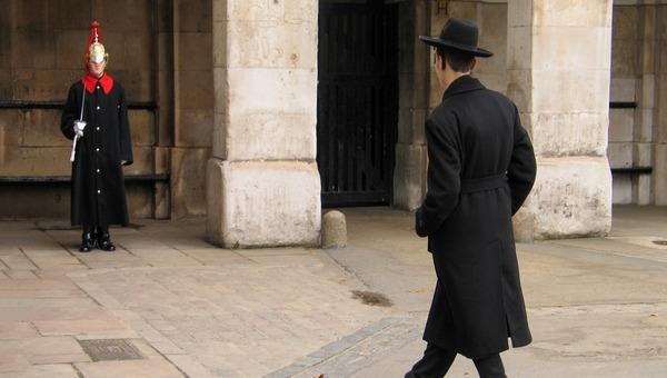 יהודי בלונדון. אילוסטרציה