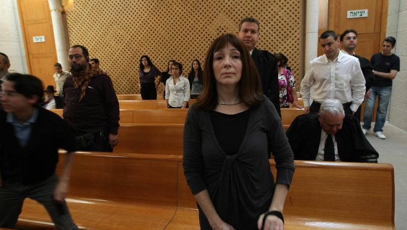 לריסה טרימבובלר בבית המשפט