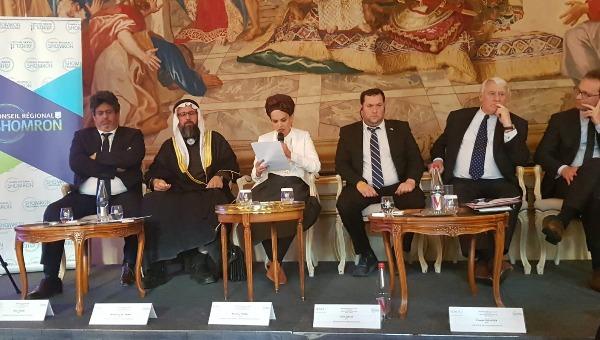 יעל שבח נואמת בפרלמנט הצרפתי