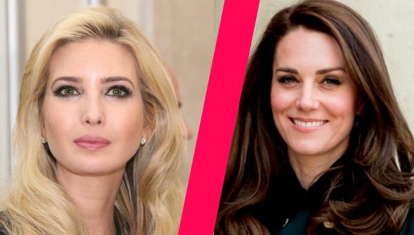 על מי השמלה נראית יותר טוב? קייט מידלטון או איוונקה טראמפ