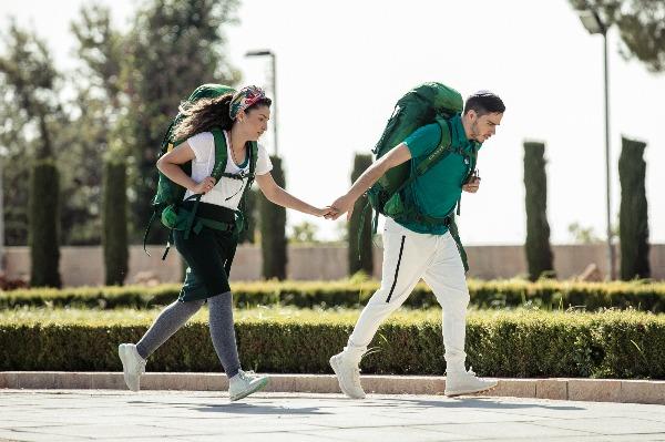 קארין ואריאל רצים לגמר: שיחה על זוגיות, דת ומירוץ קשה בטירוף