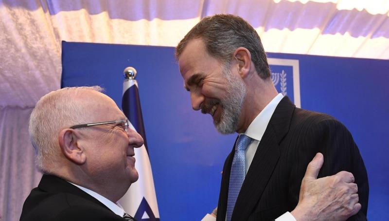 ריבלין ומלך ספרד