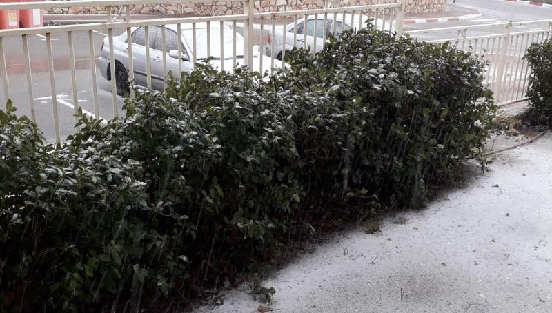 שלג בגוש