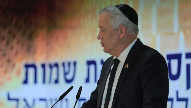 בני גנץ, בטקס הקראת שמות חללי ישראל