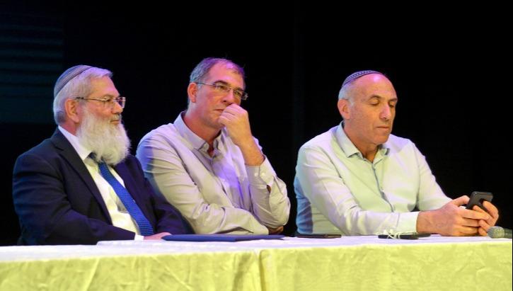 מתמודדים לראשות: מוטי יוגב, ניר אורבך, הרב אלי בן דהן