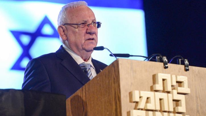 נשיא המדינה בטקס נעילת אירועי יום השואה