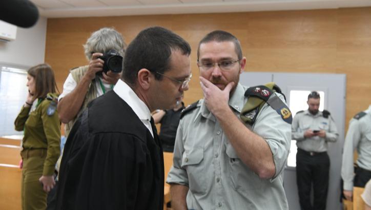 """משפטו של הקצין. עו""""ד בני קוזניץ המייצג את המשפחה"""