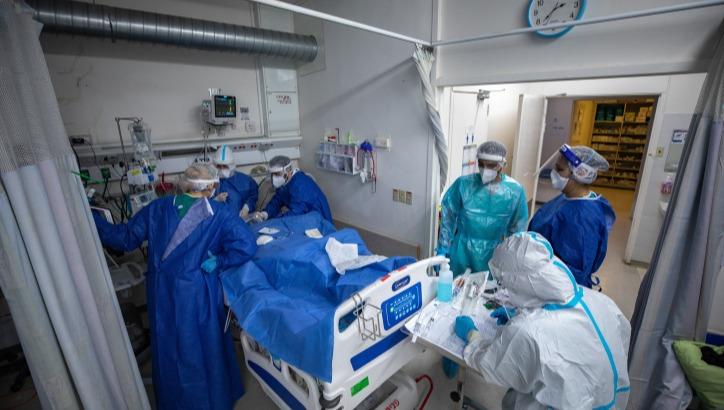 רופאים בבית החולים הדסה עין כרם. ארכיון