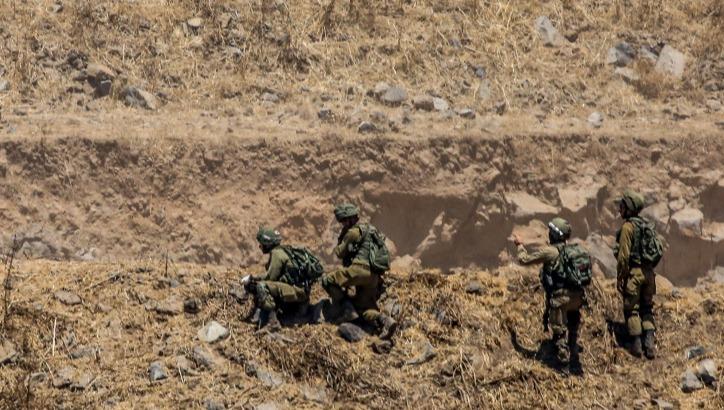 חיילים בגבול סוריה. ארכיון