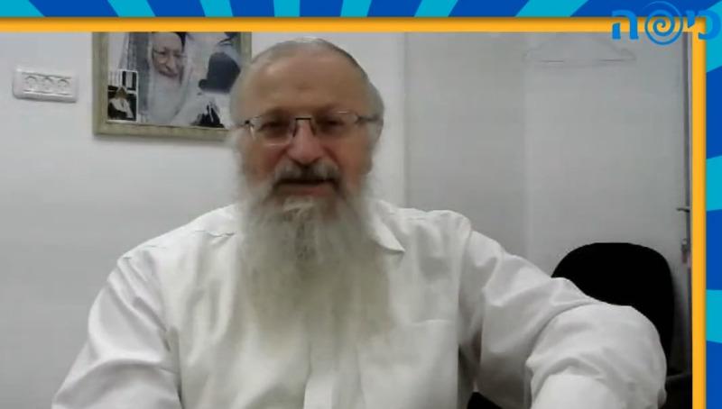 """הרב שמואל אליהו ב""""לייב כיפה"""""""
